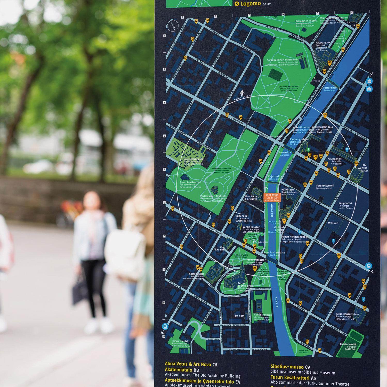 Innostavan vision avulla kohti älykästä kaupunkiopastamisen tulevaisuutta.
